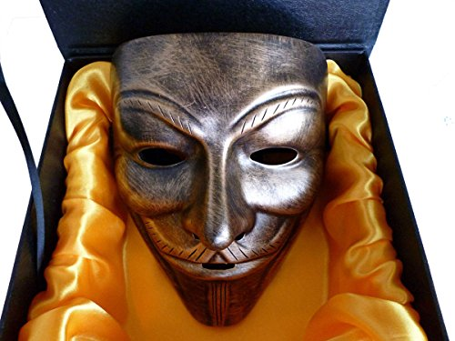 V for Vendetta Anonymous Mask Masquerade Halloween Fancy Dress Cosplay - 8