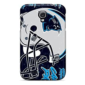 For Galaxy S4 Premium Tpu Cases Covers Carolina Panthers Protective Cases