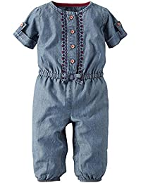 Carter's Baby Girls' Jersey Jumpsuit (Baby)