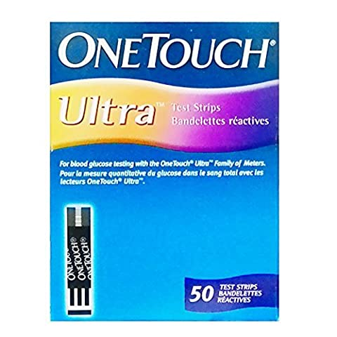 One Touch Ultra 50 test strips from Lifescan