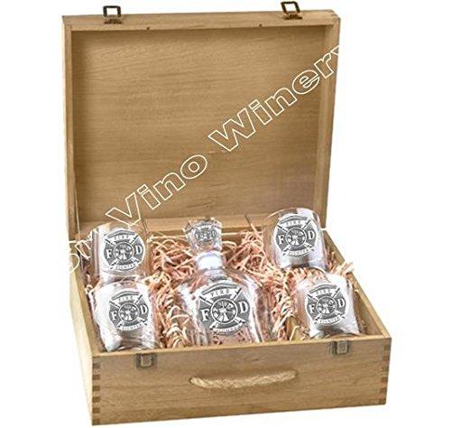 Firefighter Spirits Set w/ Box