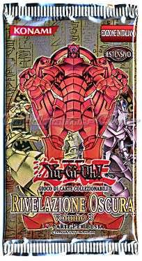 Yu-Gi-Oh! Rivelazione Oscura Volume 3 busta 12 carte KONAMI