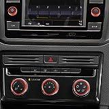 Abfer Car Control Switch Knob 5pcs Car Air