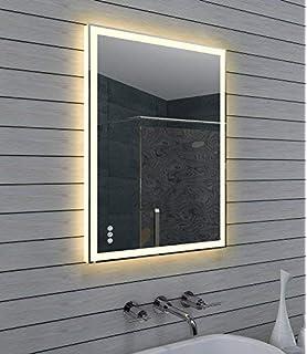 Design Spiegel Mit Led Beleuchtung 3d Effekt 320 Lumen 6400k