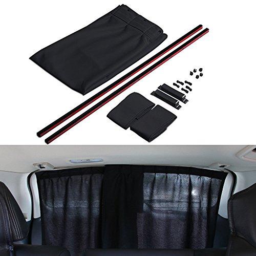 Finoki pare-soleil de voiture Universel Voitures rideau Pare Soleil  Extensible Parasol Fenetre lateral de 08f72d95563e