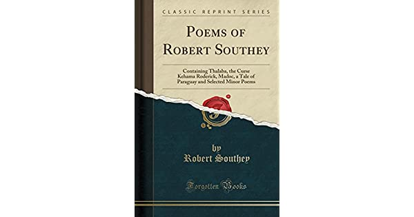 Amazon.com: Poems of Robert Southey: Containing Thalaba, the ...