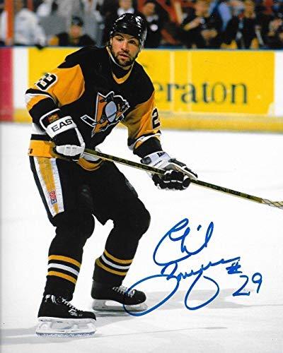 Phil Bourque Autographed Photograph - 8x10 Pens - Autographed NHL Photos