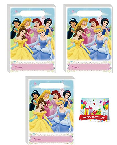 Princess Fairy Tale Party Treat Bags Bundle Pack of 24