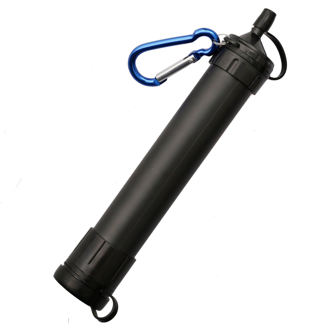 A-szcxtop Filtro de agua paja seguridad y purificador de agua portátil para actividades al aire libre o de emergencia (camuflaje)