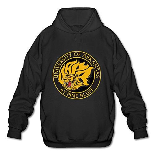 BOOMY Arkansas Pine Bluff Logo Man's Hoodie Sweatshirt SIZE - 2 Online Free Predator