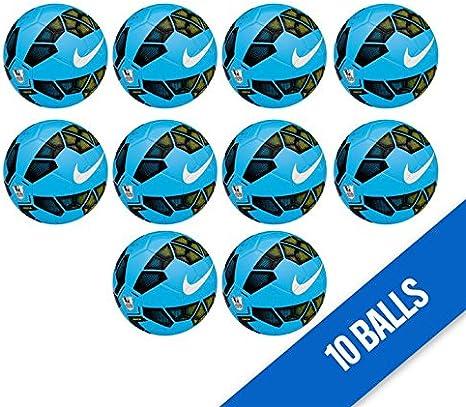 Nike Pitch EPL – Balón de fútbol, Talla 5, Color Azul – X10: Amazon ...