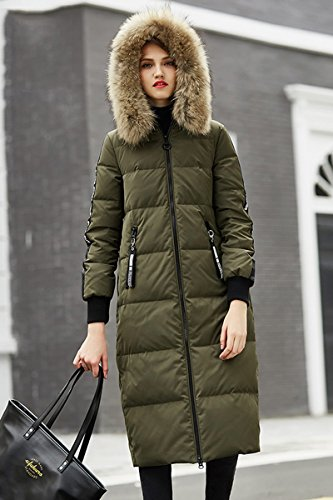 Generic Bosideng_street_personalized_letter_ commuter simple _tops_ down jacket Women longer_section_1601540 by Generic (Image #3)