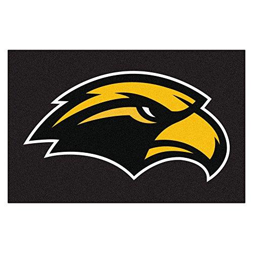 (NCAA University of Southern Mississippi Southern Miss Golden Eagles Starter Mat Rectangular Area Rug )