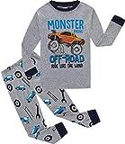 Little Big Boys Pajamas Christmas Car Cotton Gift 2 Piece Children PJS Long Sleeve Set Kids Sleepwear 4t