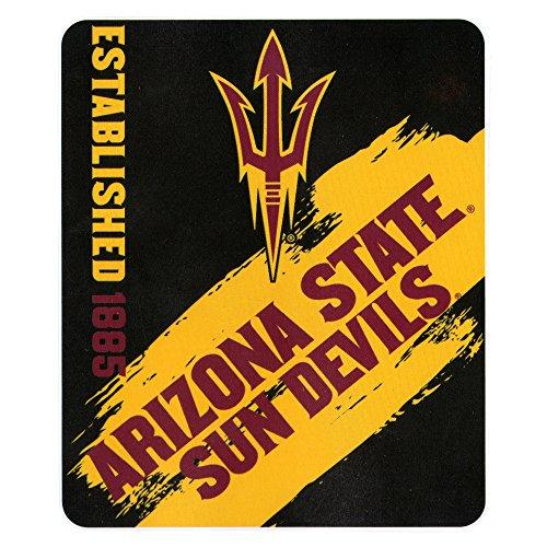 The Northwest Company NCAA Collegiate School Logo Fleece Blanket (Arizona State Sun Devils, 50
