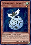 New - Yugioh Ultra Rare 1st Edition - Windwitch - Snow Bell - RATE-EN008