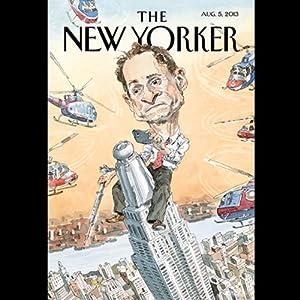 The New Yorker, August 5th 2013 (Jeffrey Toobin, Gary Shteyngart, John Lanchester) Periodical
