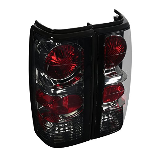 Spec-D Tuning LT-S1082G-APC S10 S15 Sonoma Smoke Altezza Tail Lights Rear Brake Lamp