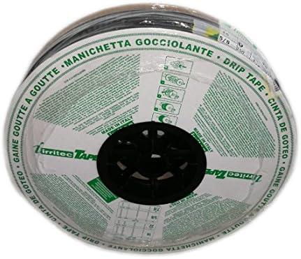 goteros chaque 20/cm Bobine de 300/MTS Jauge de /épaisseur de paroi 6/mil Ruban dirrigation par goutte 16/mm aliespain En plat avec d/ébit 4/litres par heure
