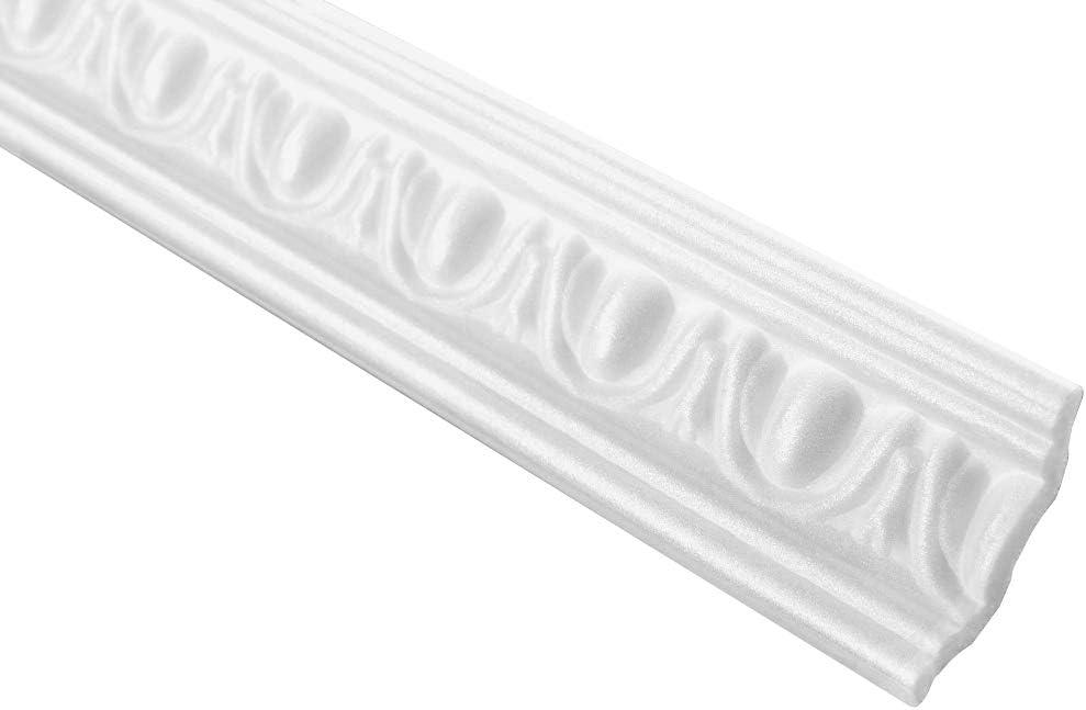 M-12 50 Meter Profiles Polystyrene Strips Corner Strips Decorative Piece 30x50mm