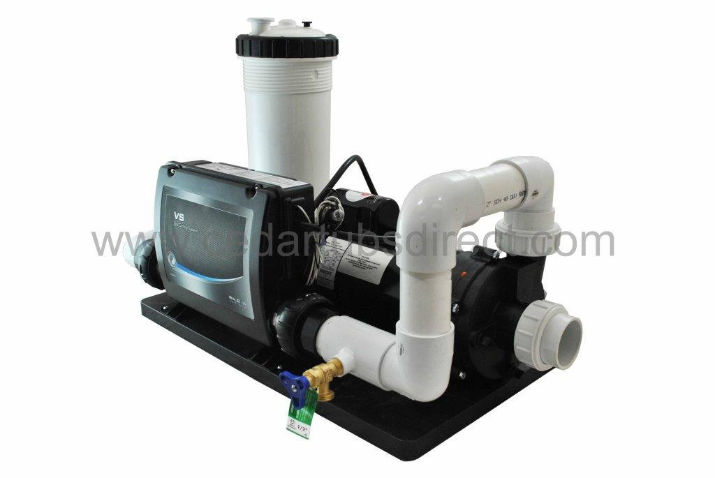Balboa Spa System - 4 HP Pump, 5.5 Kw Heater, 50 ft by Northern Lights Group