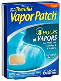 Theraflu Vapor Patch From The Makers Of Theraflu, 6 Count Boxes (Pack of 3)