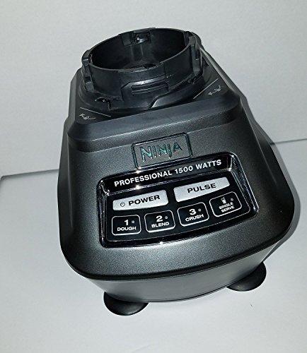 Ninja Blender Power Motor Base 1500w Black Replacement BL770 BL771 BL773 (Ninja Blender Professional 1500 Watts Replacement Parts)