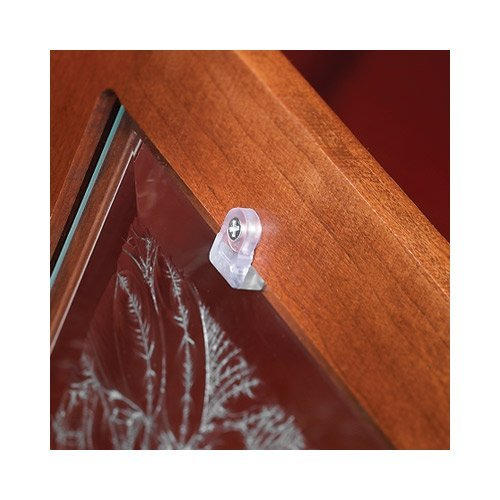 Glass Door Retainer Clips Kit - Glass Panel Cabinet Doors
