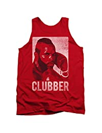 2Bhip Rocky III Boxing Action Drama Movie Clubber Lang Headshot Adult Tank Top Shirt