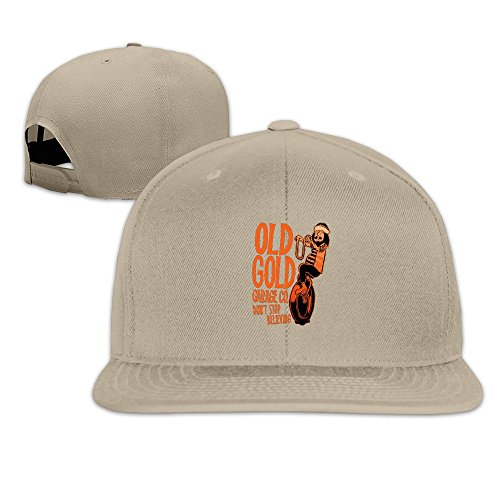 Runy Custom Dont Stop Adjustable Baseball Hat & Cap Natural