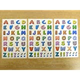 16mm Coloured Sticky Letters , A-Z Alphabet Stickers , Self Adhesive Sticky Labels