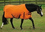 TUFFRIDER 600D Turnout Blanket - Orange 74
