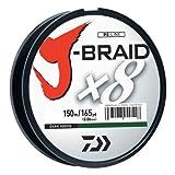 Daiwa J-Braidx8 Braided Line Dark Green