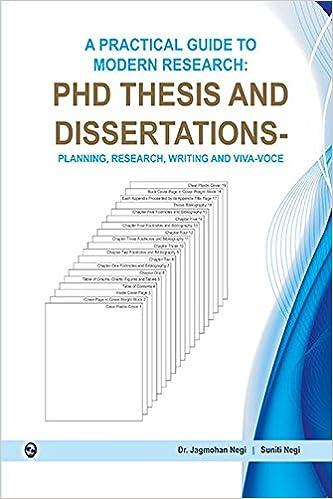 Publishing dissertation online