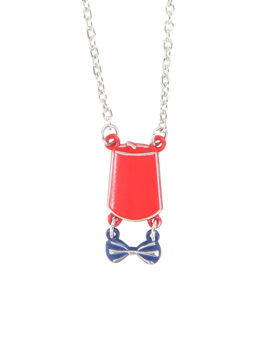 Doctor Who Fez /& Bow Tie Necklace Hot Topic 10477306