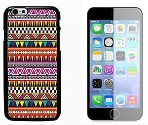 Hipstr Nebula Aztec Pattern Hard Plastic and Aluminum Back Case FOR Apple iPhone 6 6G 4.7