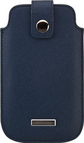 Commander 13543 Luxury Case für Apple iPhone 3G/3GS/4/4S/5/5S/5C Größe M blau