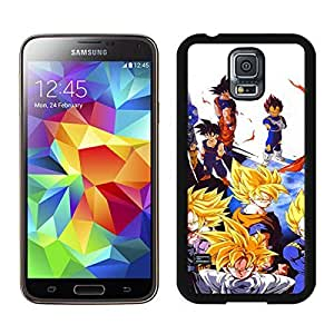 Beautiful Designed Case With Dragon Ball Z (2) Black For Samsung Galaxy S5 I9600 G900a G900v G900p G900t G900w Phone Case