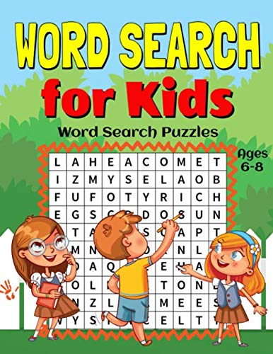 Word Search for Kids Ages 6-8: 55 Fun and Educational Word Search Puzzles to Improve Vocabulary, Spelling, Memory and Logic Skills for Kids. por Activity Lab
