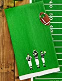 Two's Company Football Tackle the Dishes Dishtowel Bottle Opener Set (Referee)
