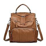 Lamdoo Large Capacity Shoulder Bag Mummy Maternity Nappy Diaper Baby Travel Backpack Brown