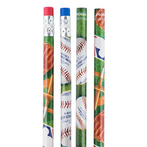 (Major League Baseball Pencils - Children's School Supplies - 36 per Pack)