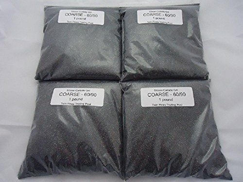 (Coarse 60/90 Silicon Carbide Grit -4 lbs.)