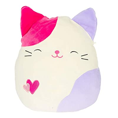 "Kellytoy 5"" Squishmallow Valentine's Day Bright Tiffany Cat Plush Doll Pillow: Toys & Games"
