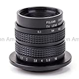 Generic Television TV Lens/CCTV Lens for Micro 4/3 Mount Camera 35mm F1.7 in Black