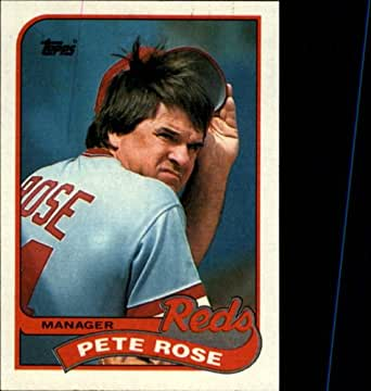 Amazoncom 1989 Topps Baseball Card 505 Pete Rose Collectibles