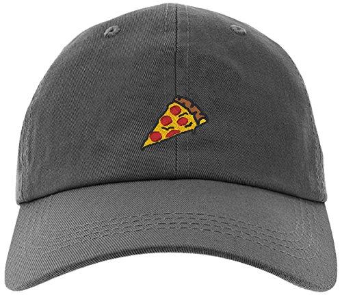 Cap Pizza Slice Pepperoni Embroidery Stitch Baseball