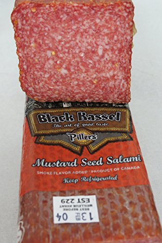 Mustard Seed Salami by HolanDeli 6oz - Canada Ship To Will Usps