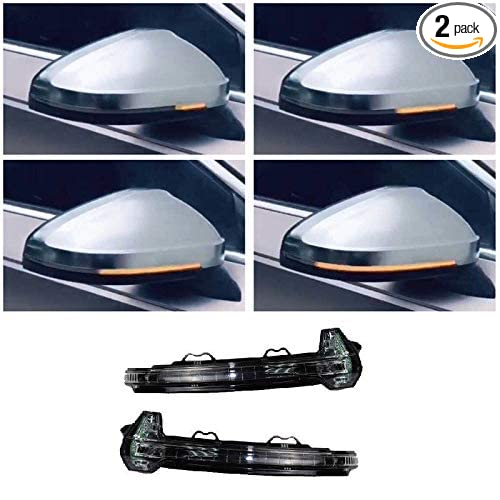 Amazon com: A Pair Dynamic Turn Signal Light Side Mirror