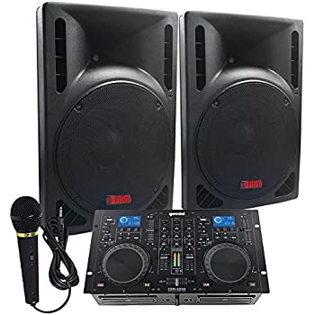 Amazon.com: DJ System - Connect your Laptop, iPod, USB, MP3\'s or ...